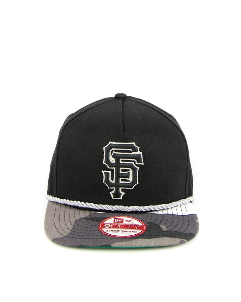 New Era San Francisco Giants CK 940 A-Frame Snapback Black/camo