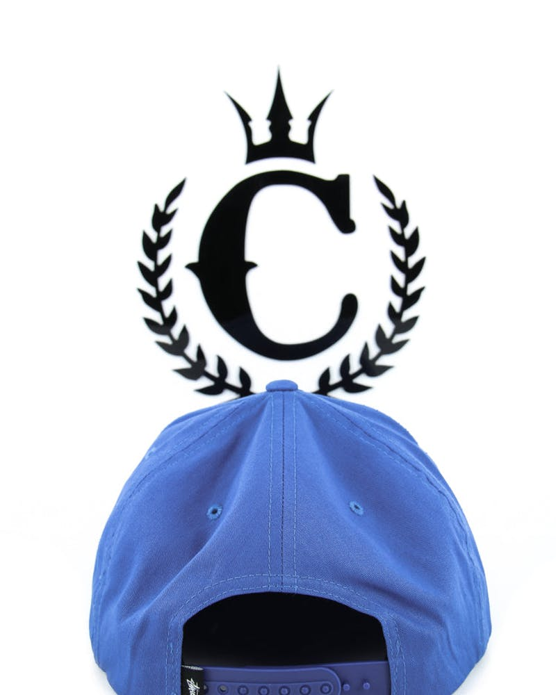 Stock Su14 Snapback Cap Royal