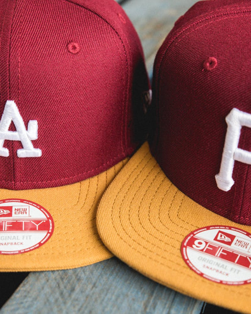 Dodgers Original Fit Snapback Cardinal/tan/wh