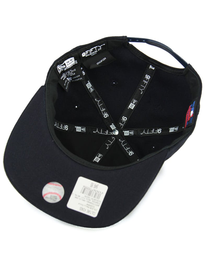 Dodgers Orig.fit Metal Snapback Navy/gold