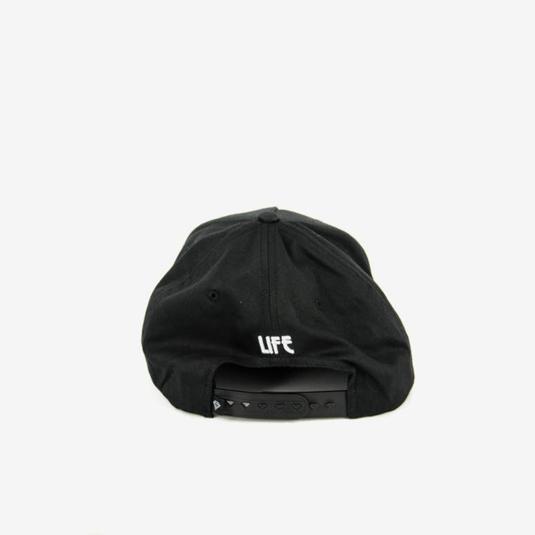 World Tour Snapback Black/white