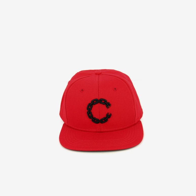 Chain C Snapback Red/black