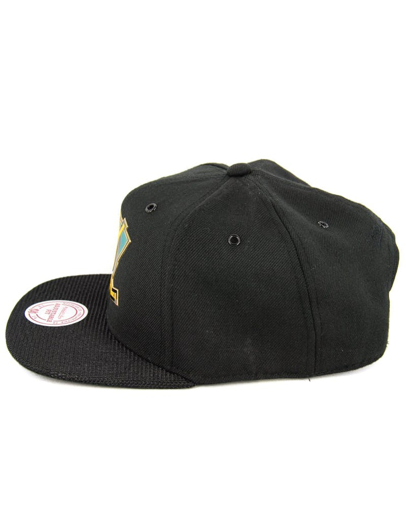 Ducks Carat Snapback Black