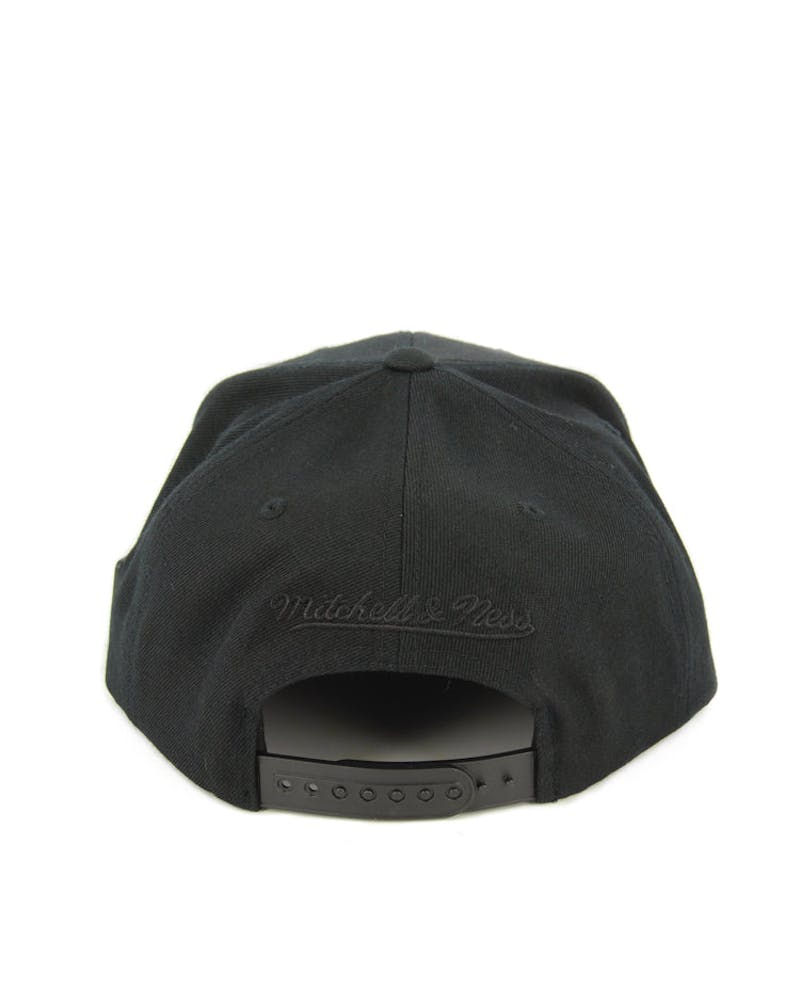 Nets Base Snapback Black/black