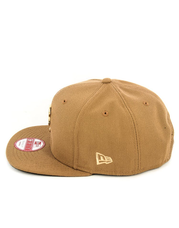 Pirates Orig.fit Metal Snapback Wheat/gold