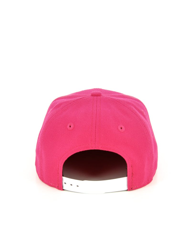 Yankees Youth Snapback Pink/white