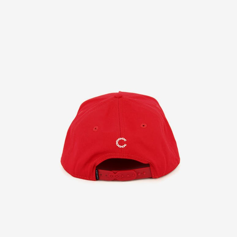 Core Logo Snapback Red