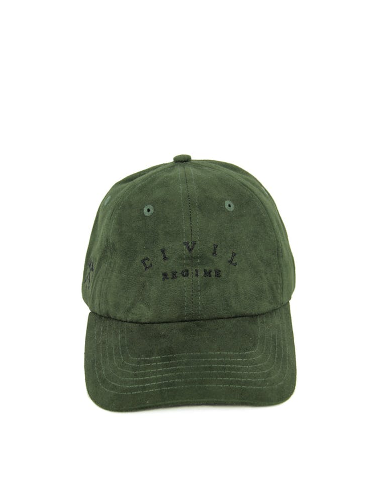 Suede Norm Core Hat Olive