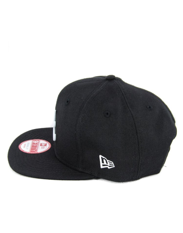Braves Orig.fit Metal Snapback Black/white