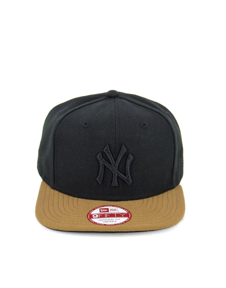 Yankees Original Fit Snapback Black/wheat