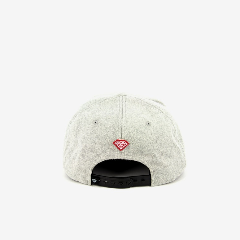 Arch Wool Snapback Heather Grey
