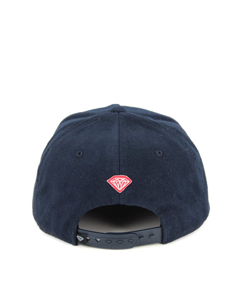 Arch Wool Snapback Navy