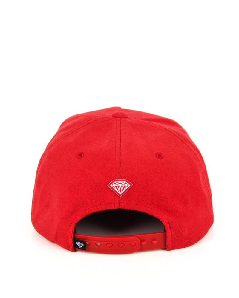 Arch Wool Snapback Red