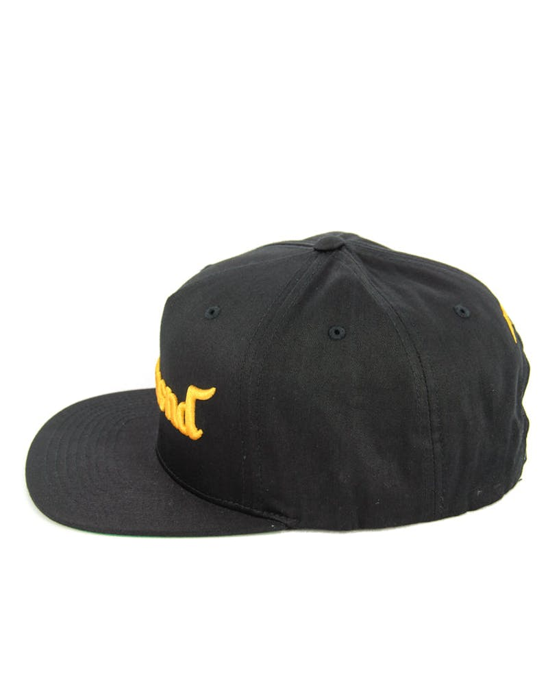 King Adj Cap Black/Orange