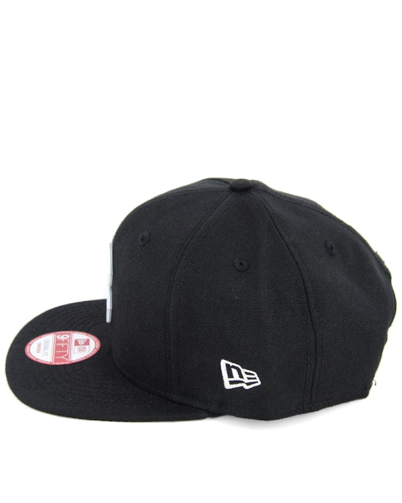 Red Sox Orig.fit Metal Snapback Black/white