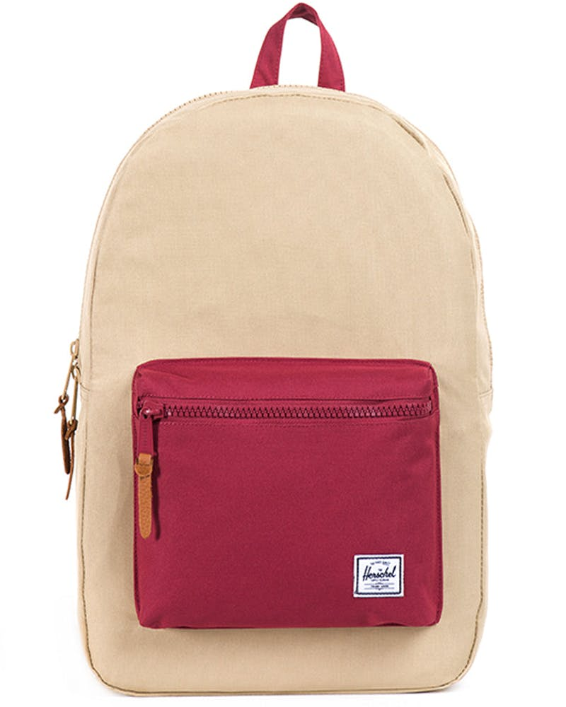Settlement Backpack 2 Khaki/burgundy