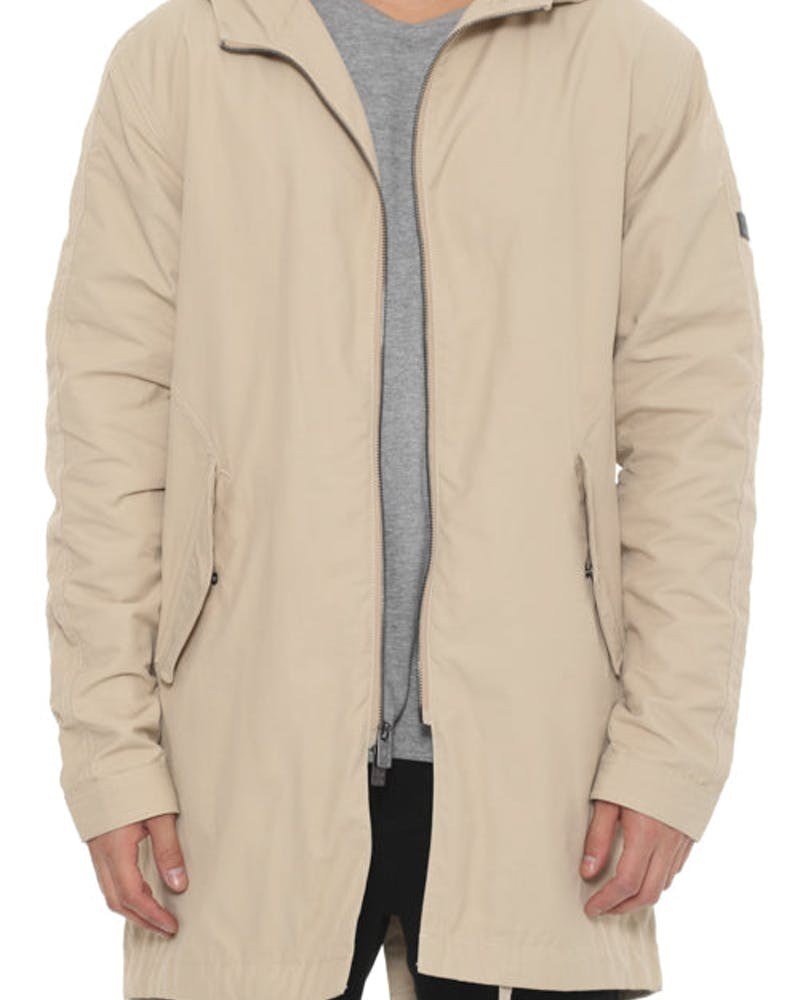 Carre Parka Jacket Stone