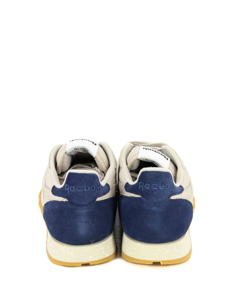 CL Leather SM Sand/navy/gum