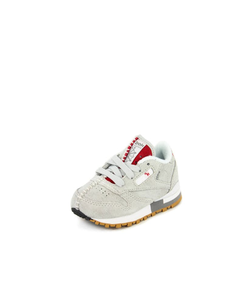 CL Leather KL Toddler Grey/white/gum