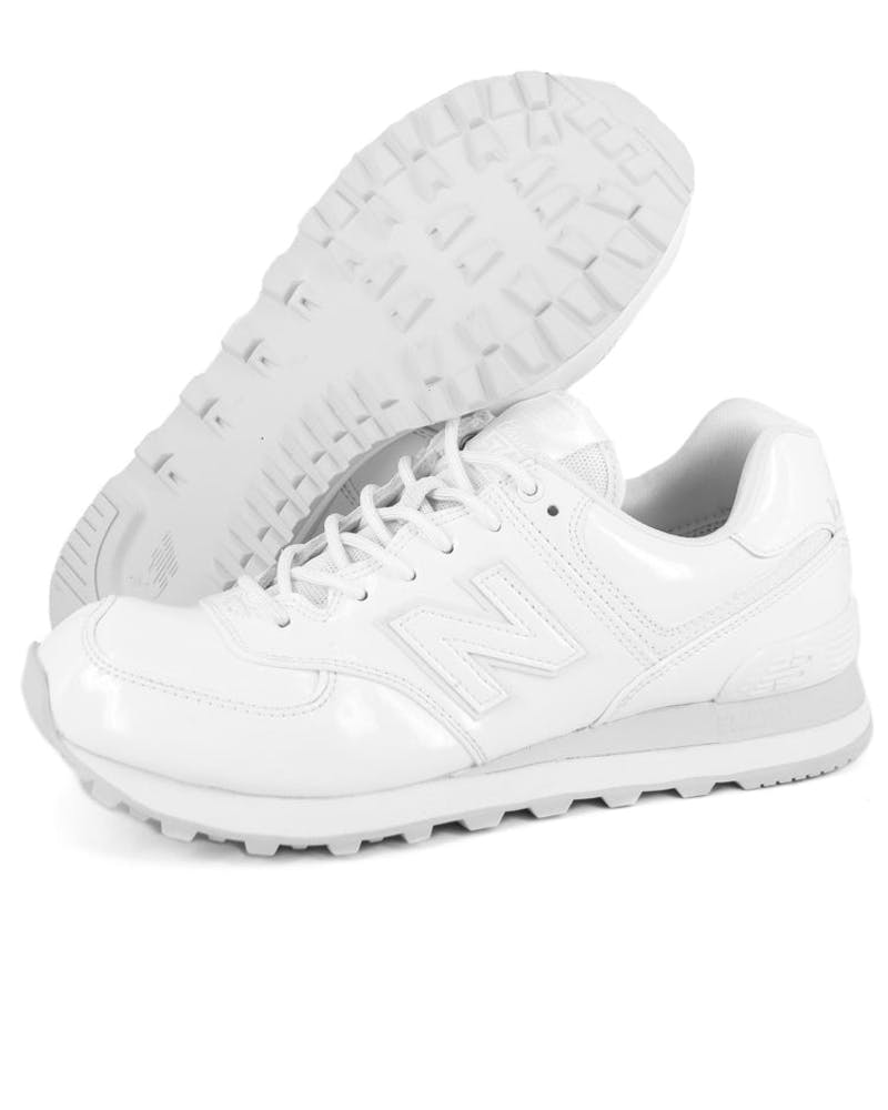 Womens 574 Flash White