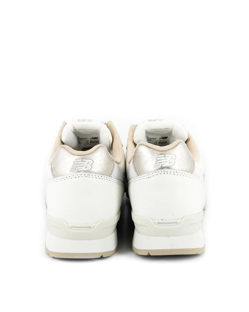 Womens 996 Leather Pack Cream/white/tan