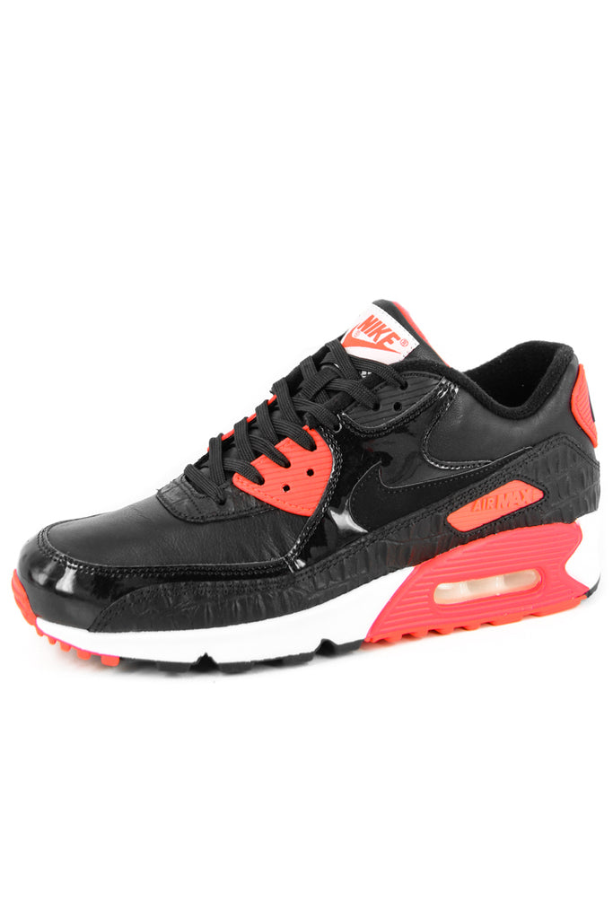Details about NIKE AIR MAX 90 Anniversary Size 8 25TH Black Croc Infrared White 725235 006