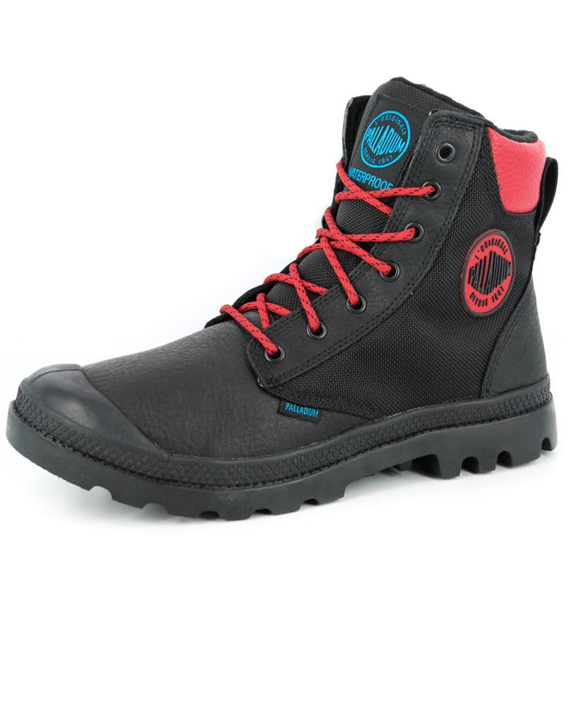 Pampa Sport Cuff Black/red/blue