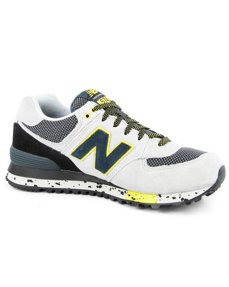 90s Outdoor 574 Grey/black/yell