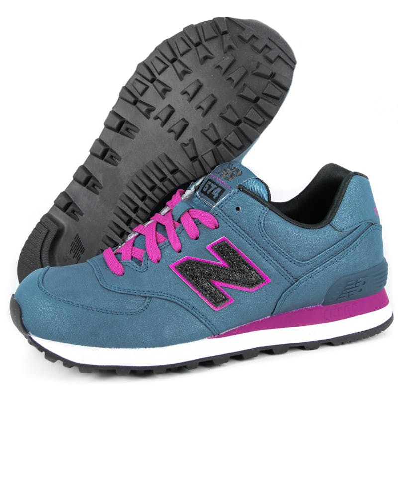 Womens Heavy Metal 574 Blue/berry