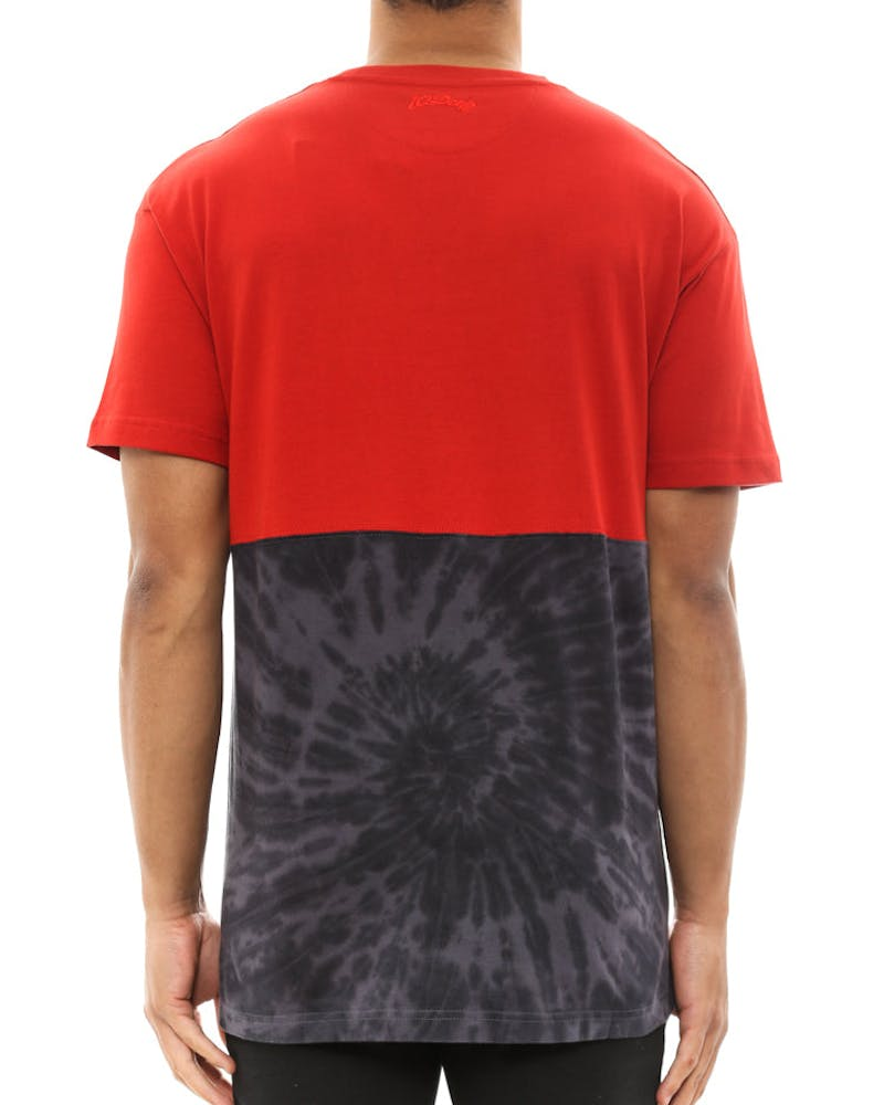 S14 Raise up Split Tee Red