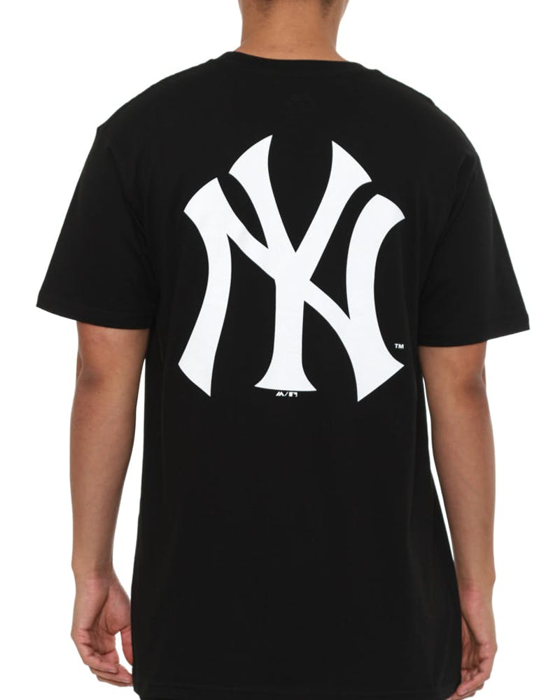 New York Remic Long Line Tee Black