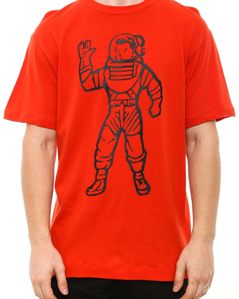 Full Astronaut Tee Red/black