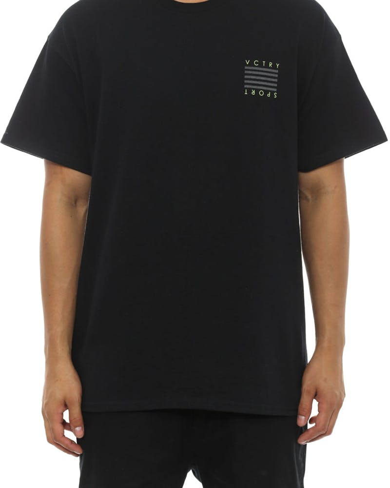 Victory Sports Tee Black