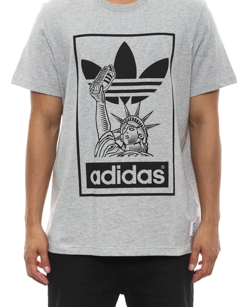 Nyc Sst Tee Grey Heather