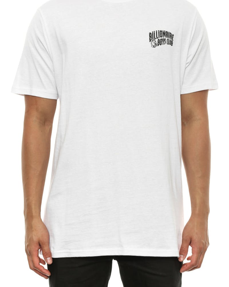 Small Arch Logo Tee White/black