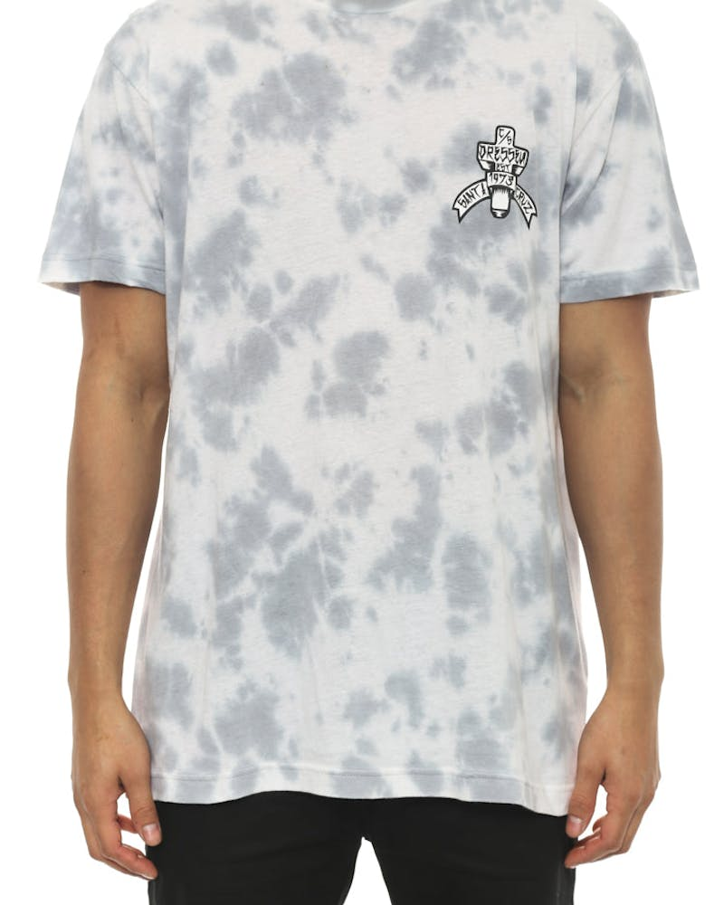 SC Serpiente Tee White/grey