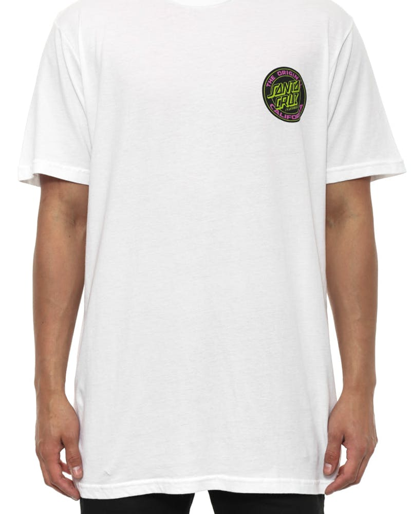 California Dot Tee White