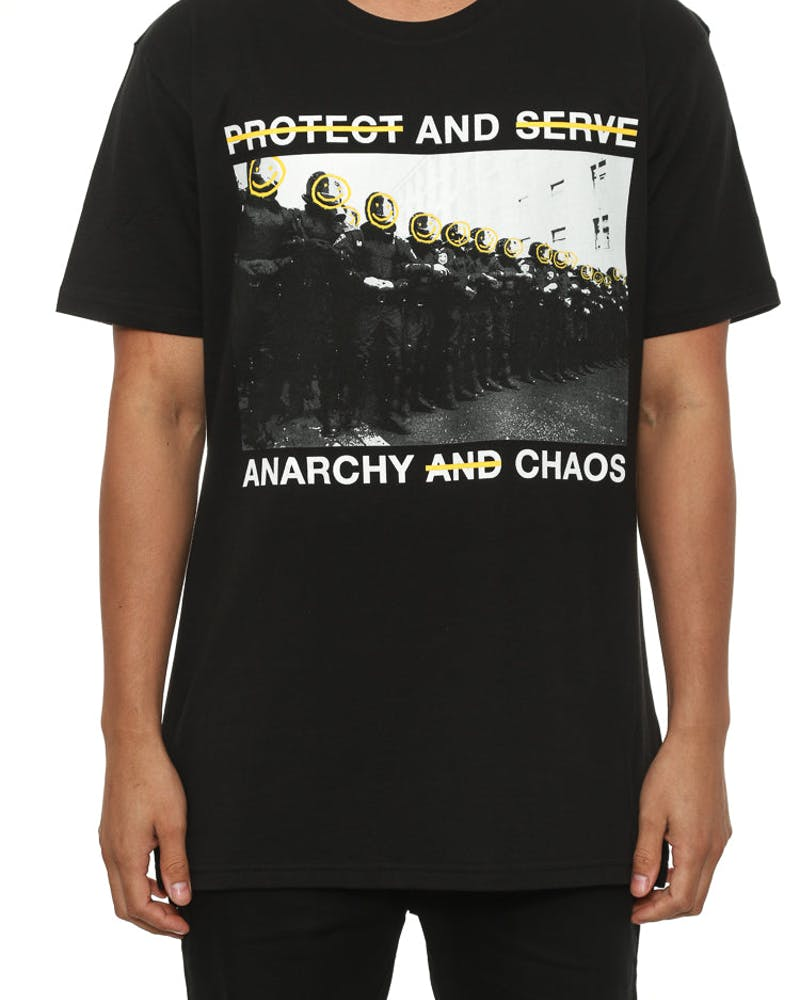 Protect & Serve T Black