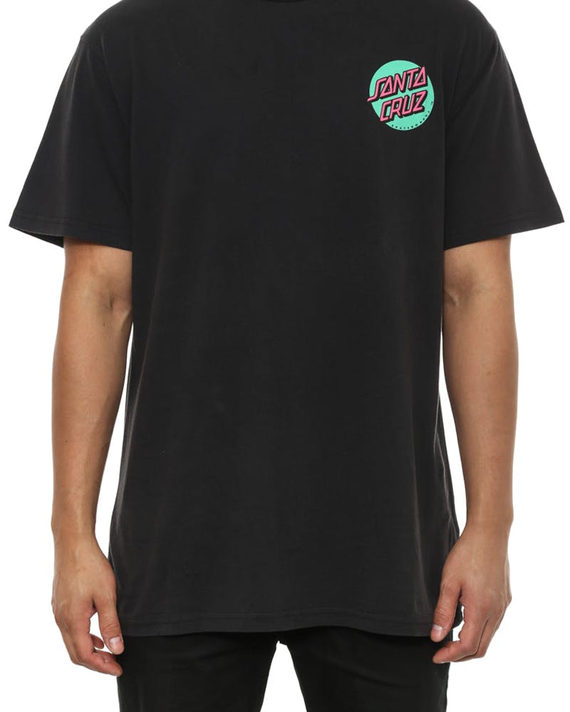 Screaming Hand Tee Acidwash Black