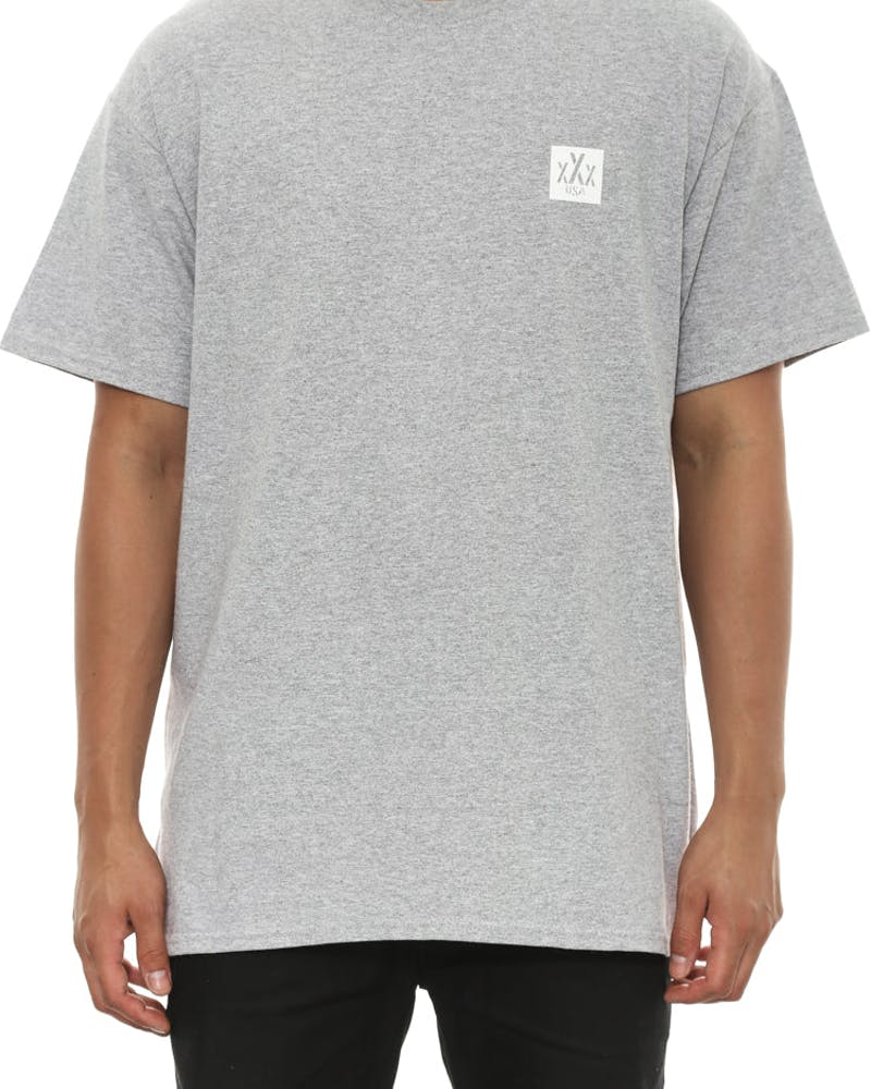10 Deep RN Tee Heather Grey