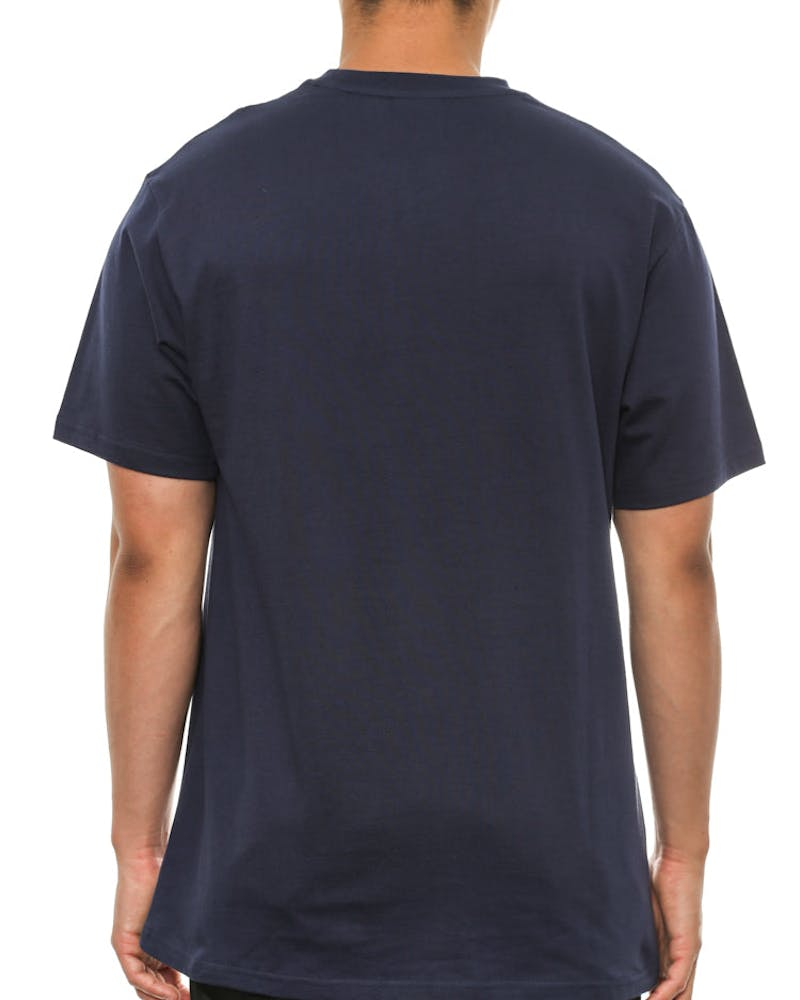 Mini Astro Pocket Tee Navy/white