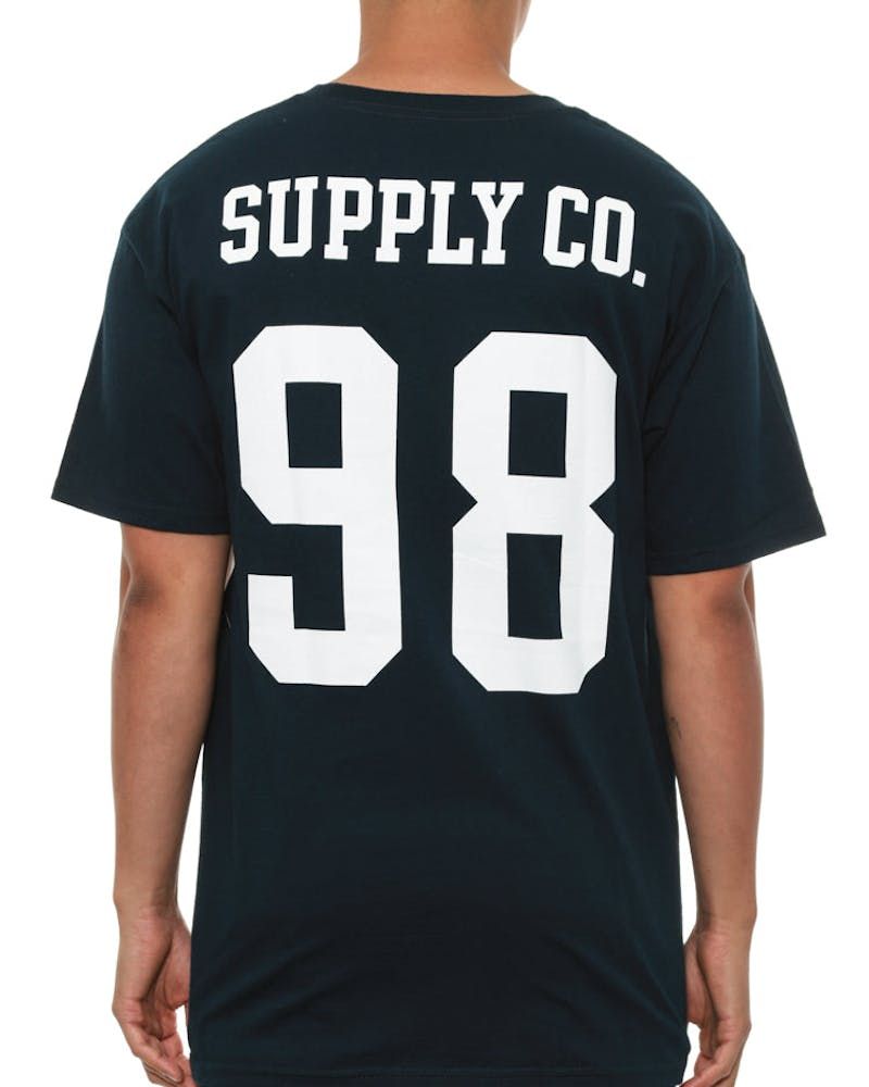Nine Eight Tee Navy