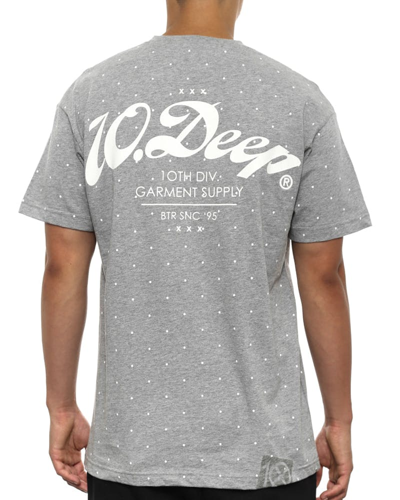 Polka Dot New Standard Heather Grey/re