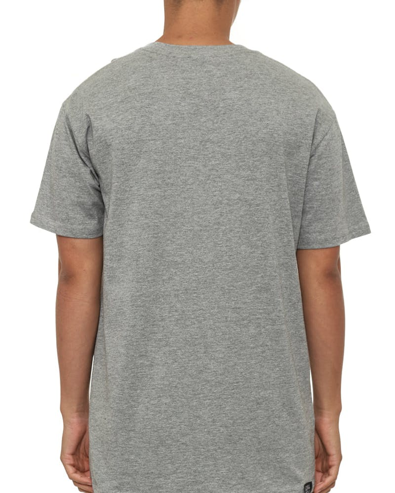WU Tapes SS T Grey Heather