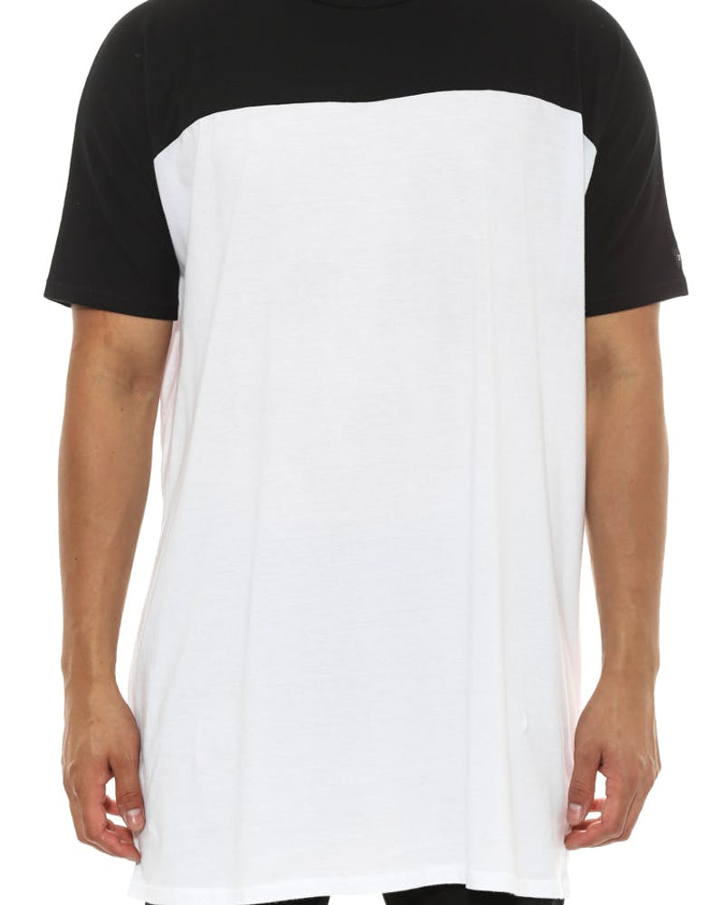 Top Tall Tee Black/white