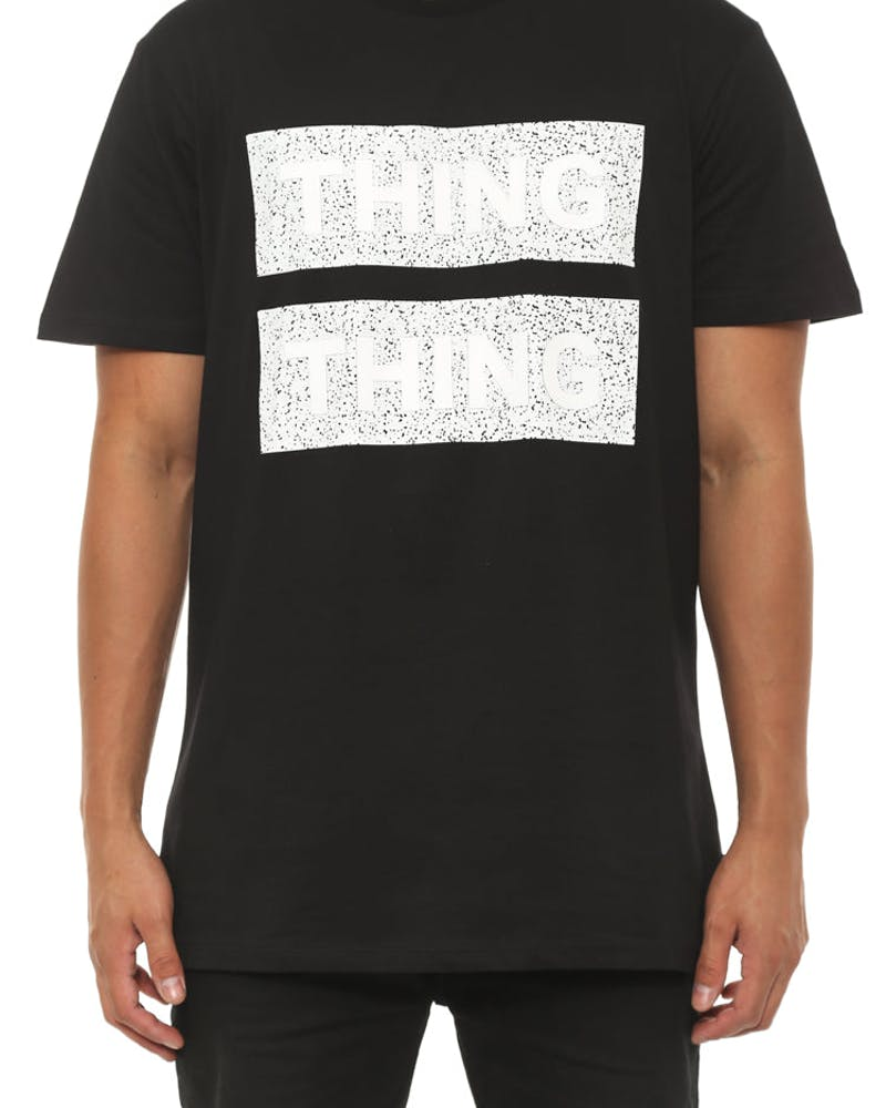 Best Tee 3D Static Black