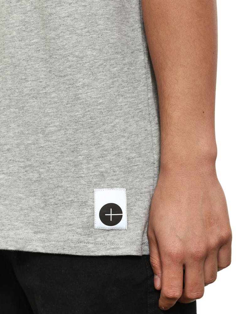 Chl+ Printed Tee Grey/black