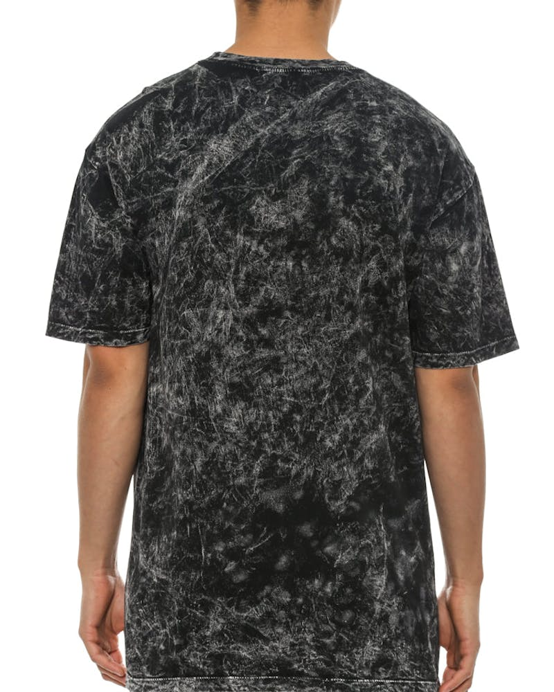 12 Galaxies Cloud Wash T Black