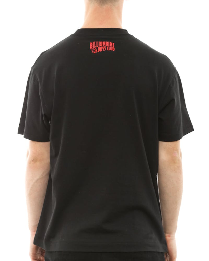 Full Astronaut Tee Black/red