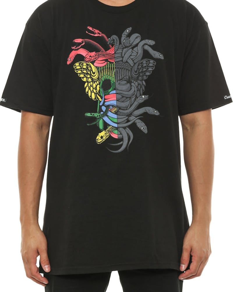 Dissected Medusa Tee Black